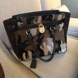 Michael Kors Hamilton Camouflage Bag